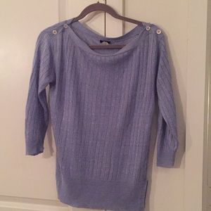 J.Crew Linen Cable Sweater Boat Neck